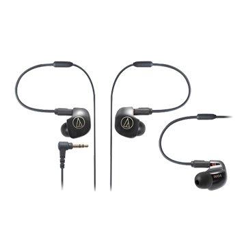 audio-technica 鐵三角 IM04(黑)四單體平衡電樞耳機(福利品出清)