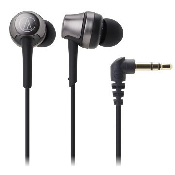 audio-technica CKR50 BK(鋼鐵黑)入耳式耳機