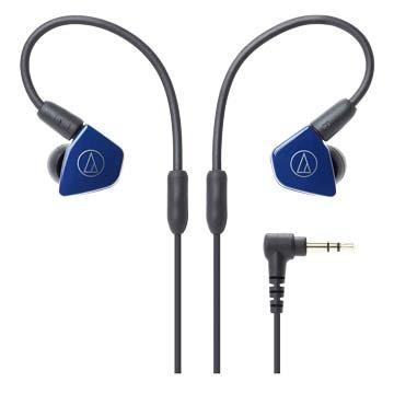 audio-technica LS50(藍)雙動圈型耳塞式耳機
