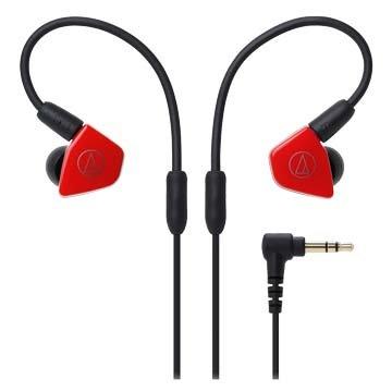 audio-technica LS50(紅)雙動圈型耳塞式耳機