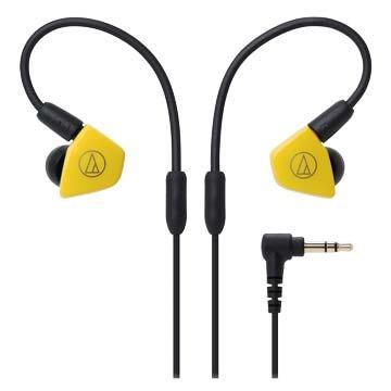 audio-technica LS50(黃)雙動圈型耳塞式耳機