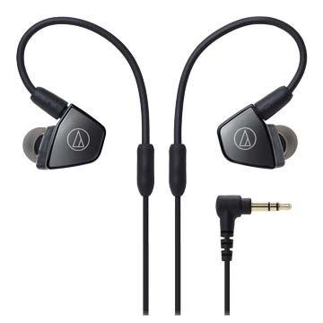 audio-technica 鐵三角LS300(鐵灰)平衡電樞耳塞式耳機(新品包裝毀損)(福利品出清)