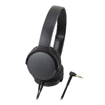 audio-technica AR1 BK(黑)攜帶頭戴式耳機