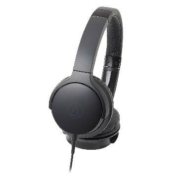 audio-technica AR3 BK(黑)攜帶頭戴式耳機