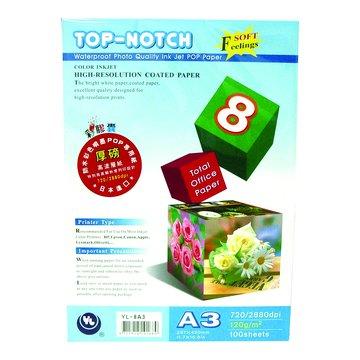 NORTH POWER 彩膠囊彩膠囊A3防水彩噴(厚)POP印表紙100張120磅