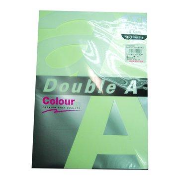 Double A A4色紙(綠)100張80磅