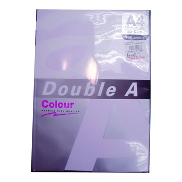 Double A A4色紙(紫)100張80磅