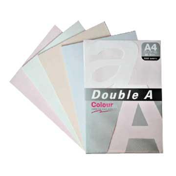Double A A4色紙(綠)50張80磅
