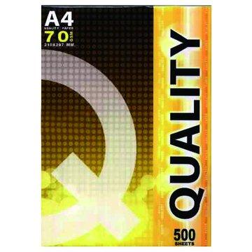 QUALITY 優質 A4多功能500張70磅(黃包)