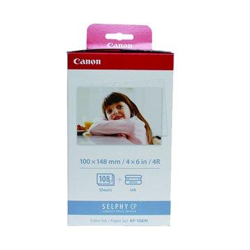 Canon 佳能 KP-108IN(4*6相片紙108張+色帶3個)