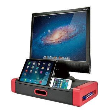 AIDATA MS1002R時尚LCD螢幕增高座