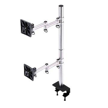 FOGIM 夾桌懸臂式雙液晶螢幕支架