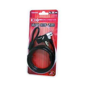 E-SENES 逸盛 Esense K110 鑰匙式筆電防盜鎖