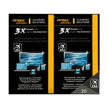 Antec 安鈦克3X強效噴霧清潔濕紙巾/20包