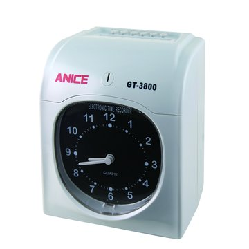 Anice GT-3800 六欄位雙色打卡鐘(福利品出清)