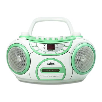 SAMPO 聲寶 AK-W708L手提CD收錄音機(福利品出清)