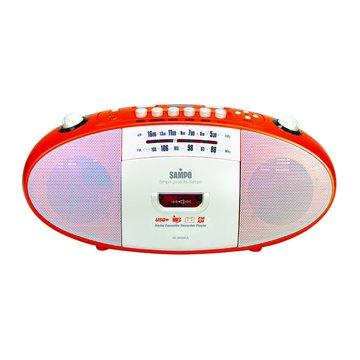 SAMPO 聲寶 AK-W908UL 手提卡帶/USB收錄音機(福利品出清)