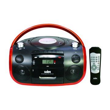 SAMPO 聲寶 AK-W919UL 手提C/M/U/SD收錄音機(福利品出清)