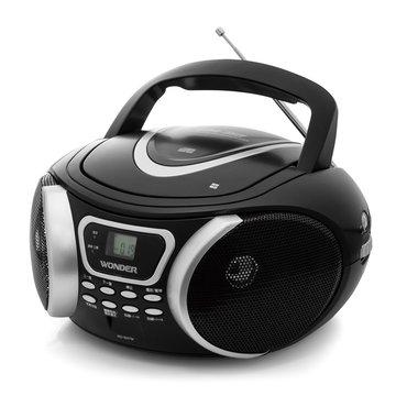 WONDER 旺德電通 WD-9207M 手提MP3/CD音響(福利品出清)