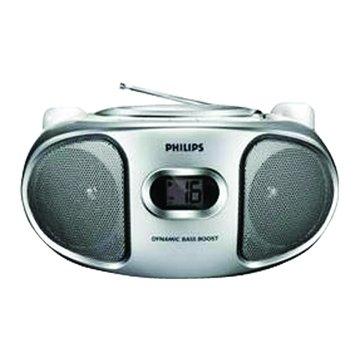 PHILIPS 飛利浦 AZ102S(銀)丸子三兄妹CD手提音響(福利品出清)