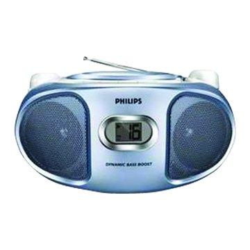 PHILIPS 飛利浦 AZ102N(藍)丸子三兄妹CD手提音響(福利品出清)