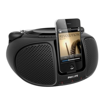 PHILIPS 飛利浦 AZD102B iPod/iPhone手提音響(福利品出清)