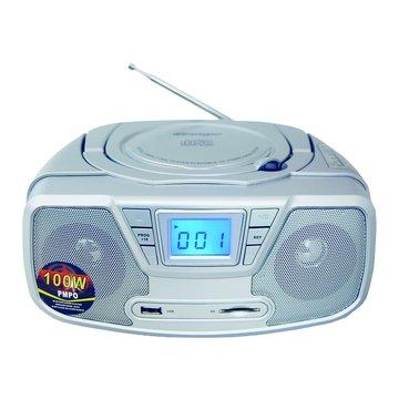 Dennys 鼎鋒 MCD-208手提MP3/USB/CD音響(福利品出清)