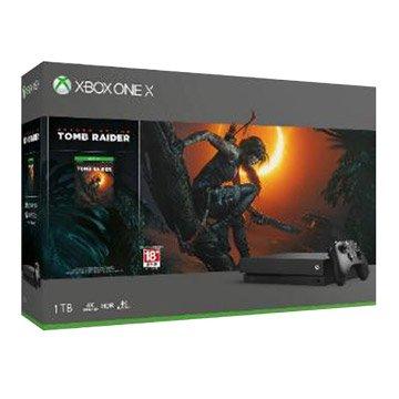 Microsoft Xbox One X 1TB 古墓奇兵:暗影同捆組
