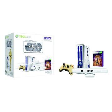 Microsoft 微軟 XBOX360 320G Kinect 星際大戰限量版主機(福利品出清)