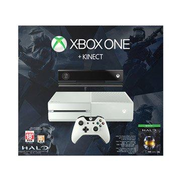 Microsoft 微軟 XBOX ONE 500G+Kinec雪白限定版 士官長合輯(福利品出清)