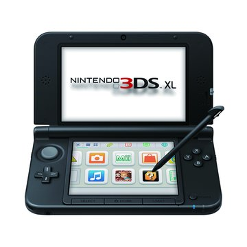 Nintendo 任天堂3DSXL 藍黑 中文版