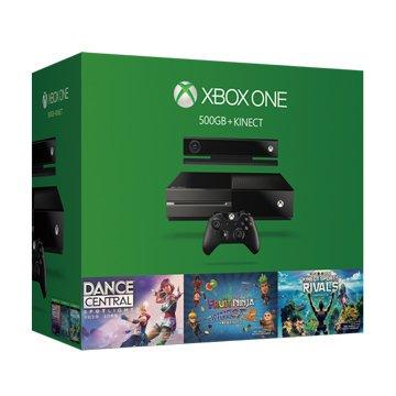 Microsoft 微軟XBOX ONE 500G + Kinect 歡樂組(福利品出清)