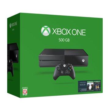 Microsoft 微軟XBOX ONE 500G 單機版 士官長全集同捆組(福利品出清)