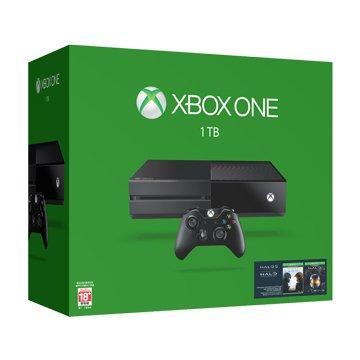 Microsoft 微軟 XBOX ONE 1TB 單機版 士官長全集同捆組 預購中 8/26出貨(福利品出清)