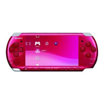 SONY 新力牌 PSP 主機3007型(豔光紅)(福利品出清)