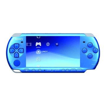 SONY 新力牌 PSP 主機3007型(躍動藍)(福利品出清)