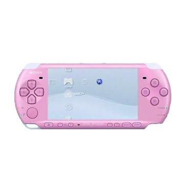 SONY 新力牌 PSP 主機3007型(粉紅)+1片遊戲(福利品出清)