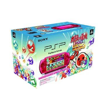 SONY 新力牌 PSP 主機3007型(紅)-太鼓達人DX同捆包(福利品出清)