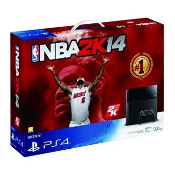 SONY 新力牌 PS4 主機(500G黑) NBA 2K14同捆主機(福利品出清)