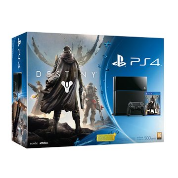 SONY 新力牌 PS4 主機(500G冰河白)Destiny天命同捆(福利品出清)
