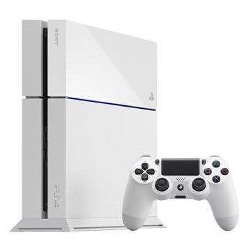 SONY 新力牌 PS4 主機(500G冰河白)新版俠盜列車手5 同捆組(福利品出清)