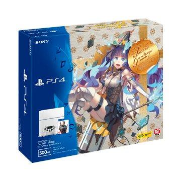 SONY 新力牌 PS4 主機(500G冰河白)Ai奇幻同捆組 (福利品出清)