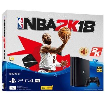 SONY 新力牌 ps4 pro (1tb黑) NBA2K18 同捆組(福利品出清)