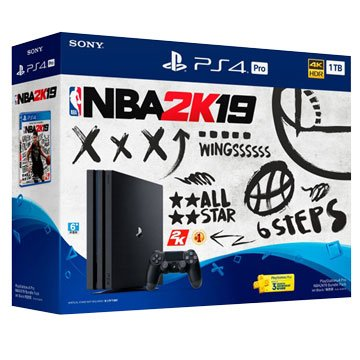 SONY 新力牌PS4 Pro (1TB) NBA 2K19 限量同捆組(福利品出清)