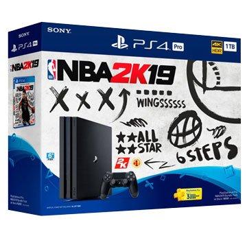 SONY PS4 Pro (1TB) NBA 2K19 限量同捆組