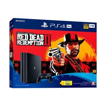 SONY 新力牌PS4 Pro (1TB) 碧血狂殺2 同捆組(福利品出清)