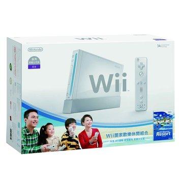 Nintendo 任天堂 WII主機白+Resort+Remote Plus遙控器(福利品出清)