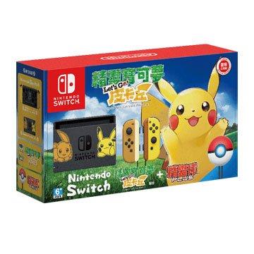 Nintendo 任天堂 Switch 精靈寶可夢Let