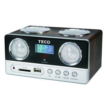 TECO 東元 黑/XYFSP001 USB隨身音箱(福利品出清)