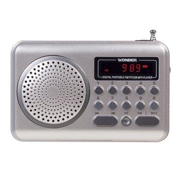 WONDER 旺德電通 WS-P006 USB/MP3/FM 隨身音響